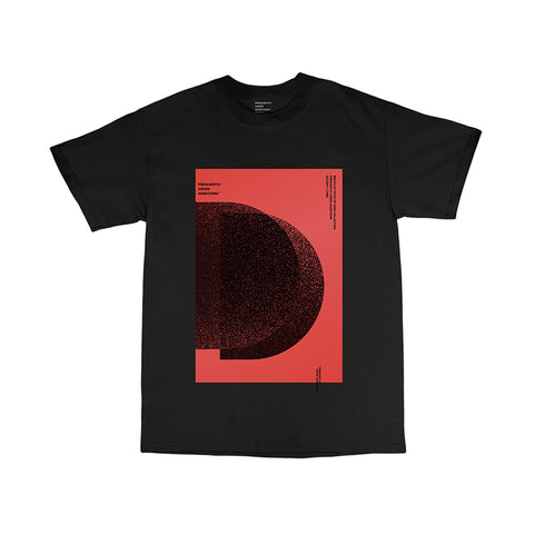 Two Moons Tee- Black