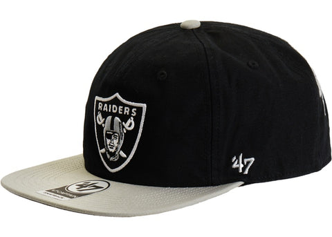 Supreme NFL x Raiders x '47 5-Panel- Black