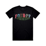 FourPF Branch Tee - Black