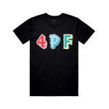 Patch Colors Tee - Black