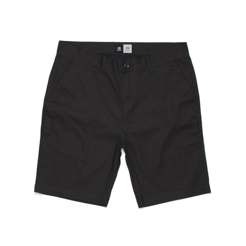 PLAIN SHORTS - 5902 - BLACK