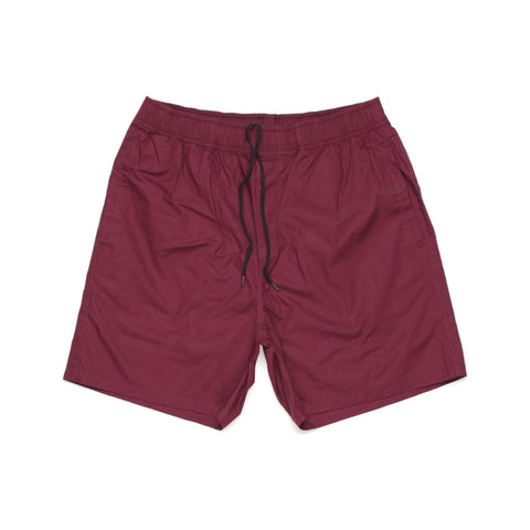 Beach Shorts - 5903 (Burgundy)