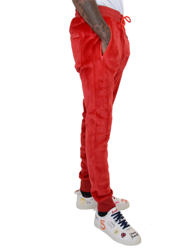 Hidden Treasures Velour Sweatpants