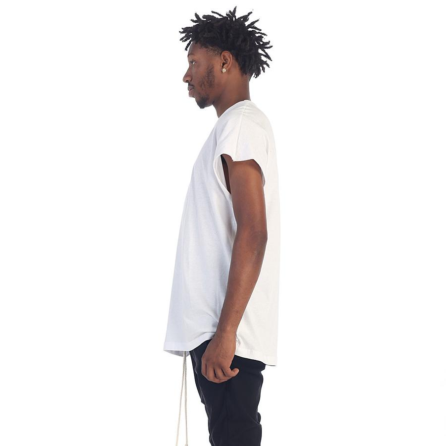 BACK SEAM MUSCLE TEE (White)