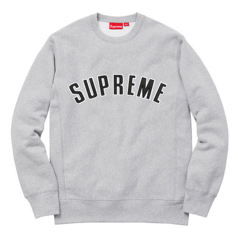 Supreme Embroidered Logo Crewneck