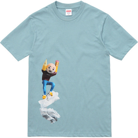 Supreme Mike Hill Tee- Mint Blue