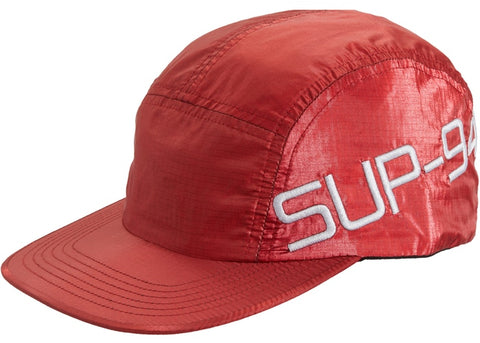 Supreme Side Logo Camp Cap- Red