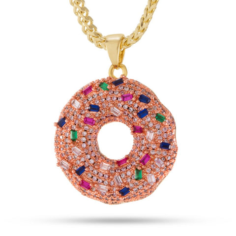 The CZ Donut Necklace