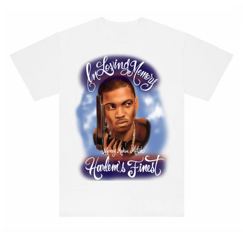 RIP Money Makin' Mitch Tee - White