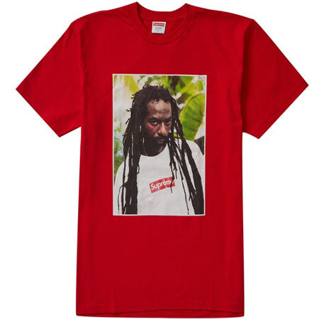 Supreme Buju Banton Tee- Red