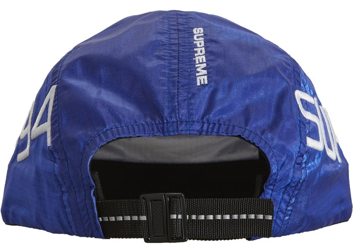 Supreme Side Logo Camp Cap- Royal