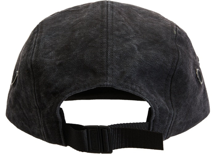 Supreme Washed Canvas Camp Cap (FW19)- Black