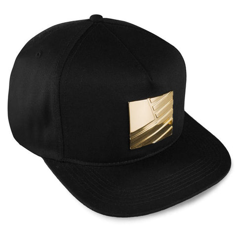 GOLD PLATE SQUARE FLAG SNAPBACK