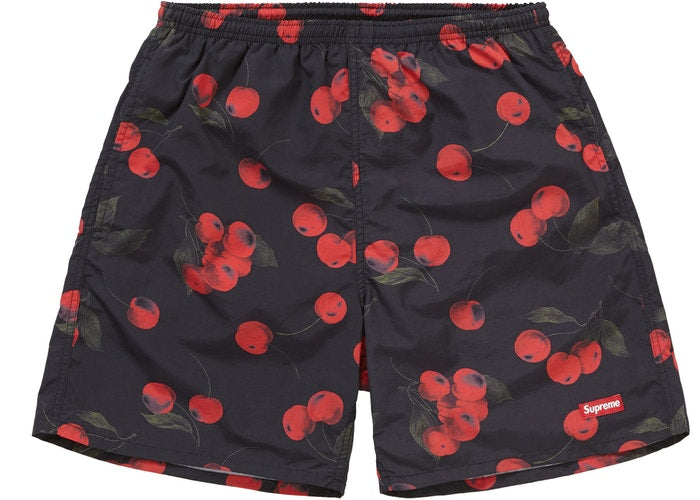 Supreme Nylon Water Short (SS19)- Black Cherry
