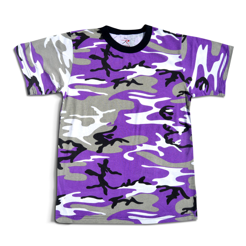 Purple Camo T-Shirt