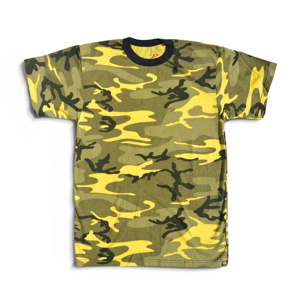 Yellow Camo T-Shirt