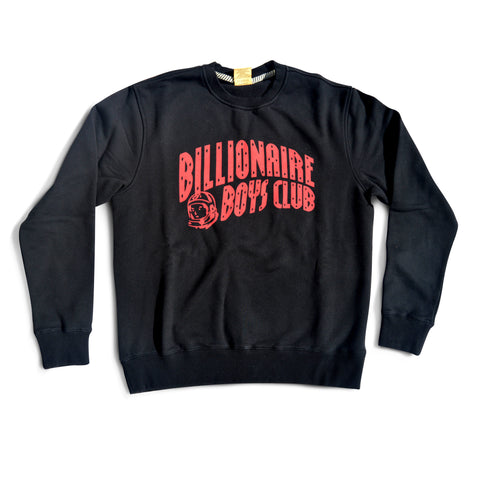 BB Arch Logo Crewneck - Black