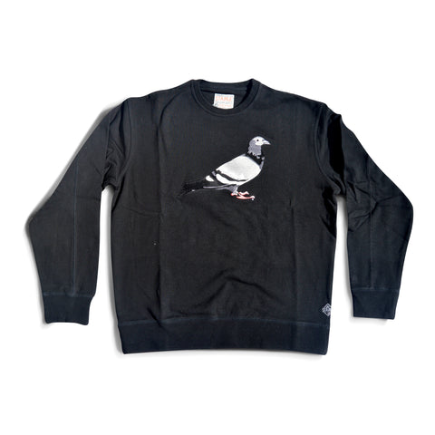 Staple Pigeon Crewneck - Black