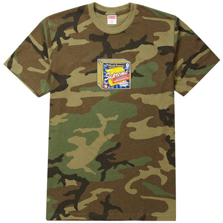 Supreme Cheese Tee- Woodland Camo