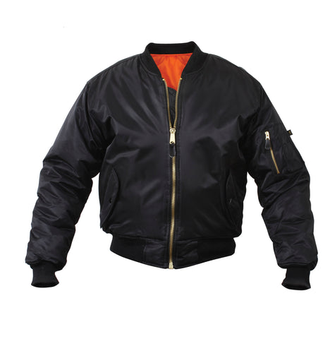 MA-1 FLIGHT JACKET -black