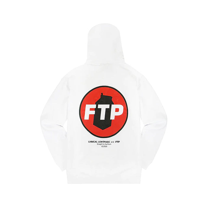 FTP/Lyrical Lemonade Hoodie- White