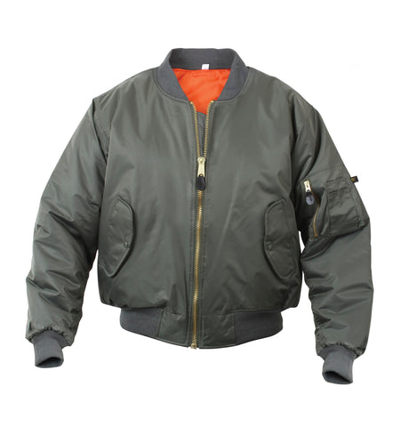 MA-1 FLIGHT JACKET -sage green
