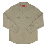 Supreme Mike Kelley AhhYouth! Work Shirt- Khaki