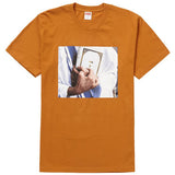 Supreme Bible Tee- Burnt Orange