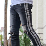 REFLECTIVE DENIM BLK