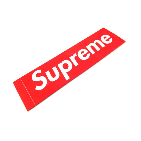 Supreme box logo sticker streetwear official