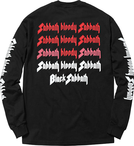 Supreme Black Sabbath Long Sleeve