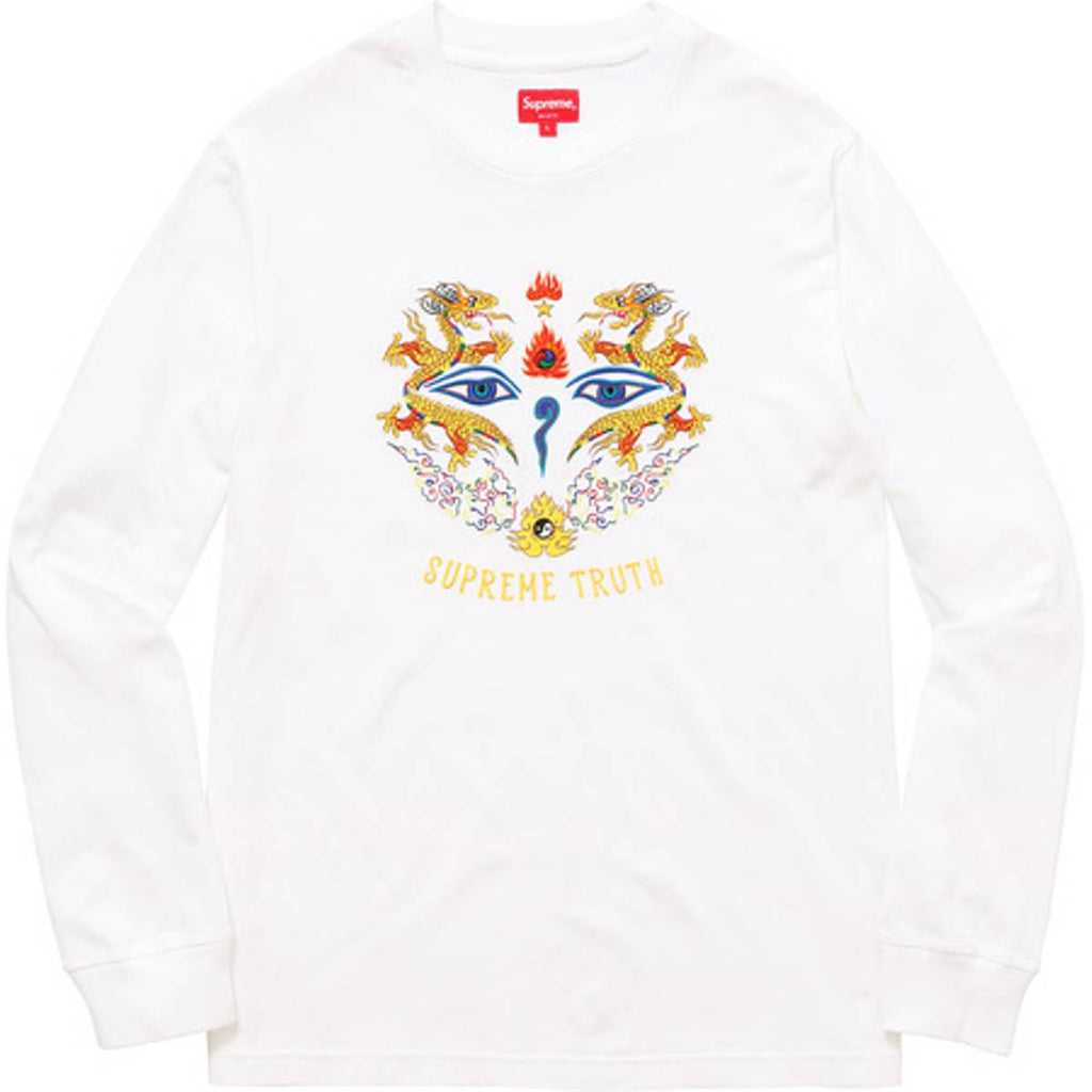 Supreme Truth L/S white