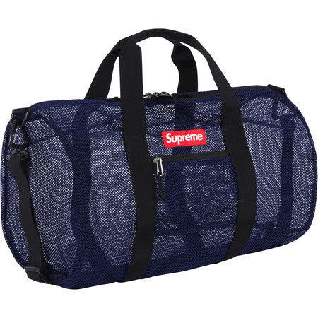 Mesh Duffle Bag (NAVY)