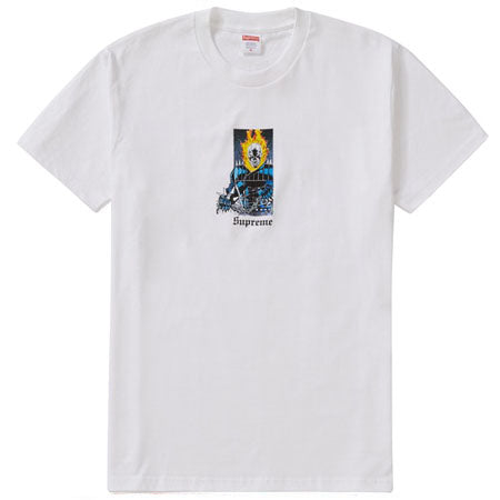 Supreme Ghost Rider Tee- White