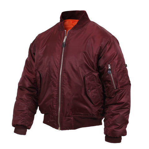 MA-1 FLIGHT JACKET -maroon