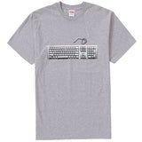 Supreme Keyboard Tee- Heather Grey
