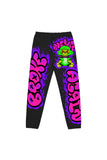 38 Graffiti Monkey Joggers - Black