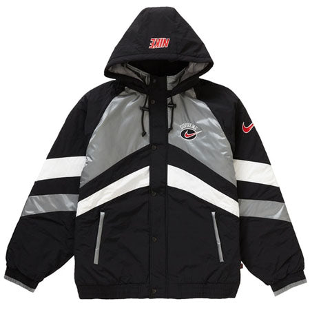Supreme Nike Hooded Sport Jacket- Silver