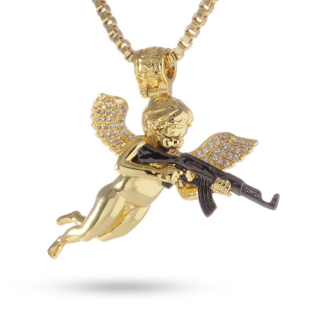 14K Gold Archangel of Reprisal