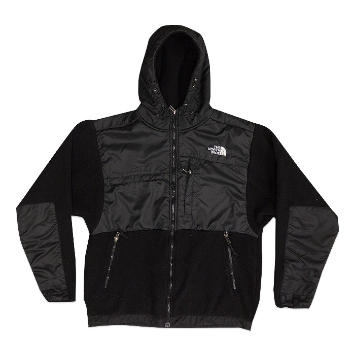 Vintage The North Face Hooded Black Fleece