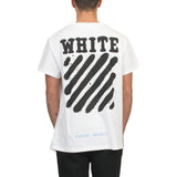 OFF WHITE c/o DIAG SPRAY T-shirt