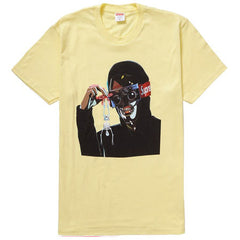 Supreme Creeper Tee- Pale Yellow