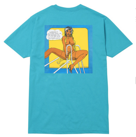 Supreme Onious Undercover lover tee - Teal