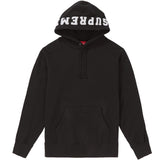 Supreme Paneled Hooded Sweatshirt- Black