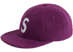 Supreme Polartec S Logo 6-Panel- Purple