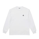 Palace Square Patch L/S- White