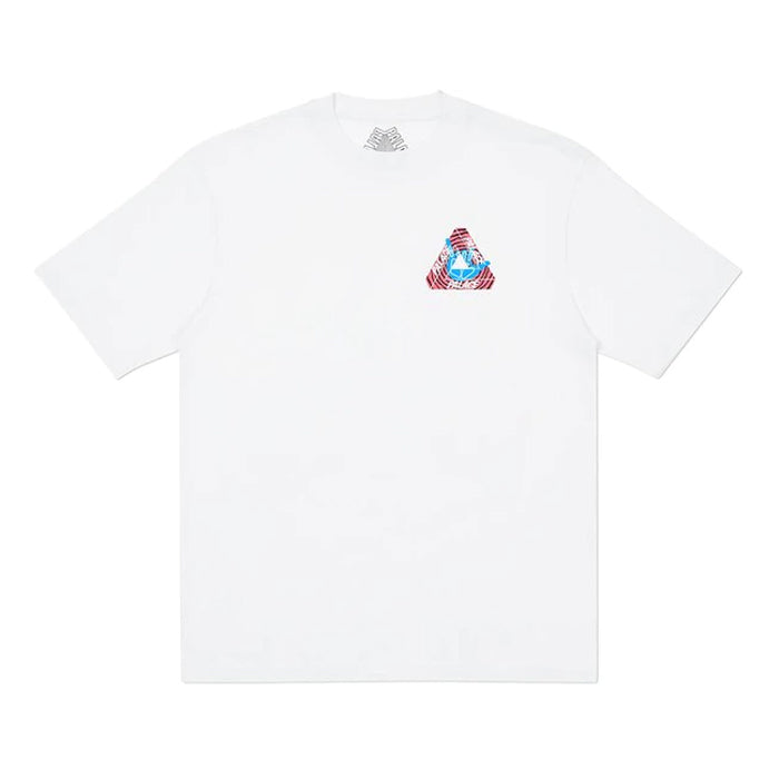 Palace Tri-Zooted Shakka Tee- White