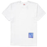 Supreme Middle Finger to the World Tee- White