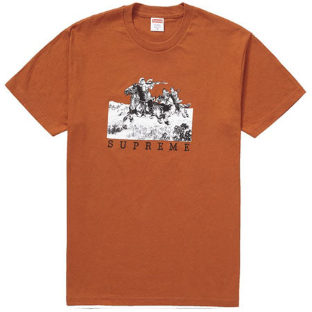 Supreme Riders Tee- Rust