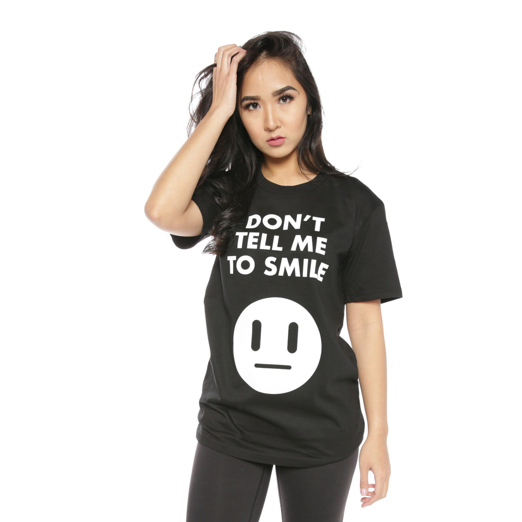 No Smiling (Black)